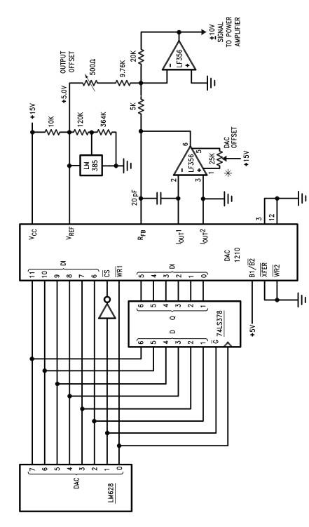 DC motor driver circuit design using LM628 LM629