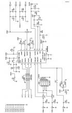 AD9834 DDS device evaluation board circuit