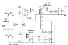 LNK616PG 5 volt constant charger circuit design electronic project