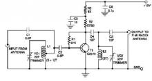 Low-cost FM booster circuit