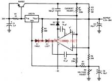 LM317 30v variable power supply circuit