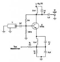 Varactorless high frequency modulator circuit