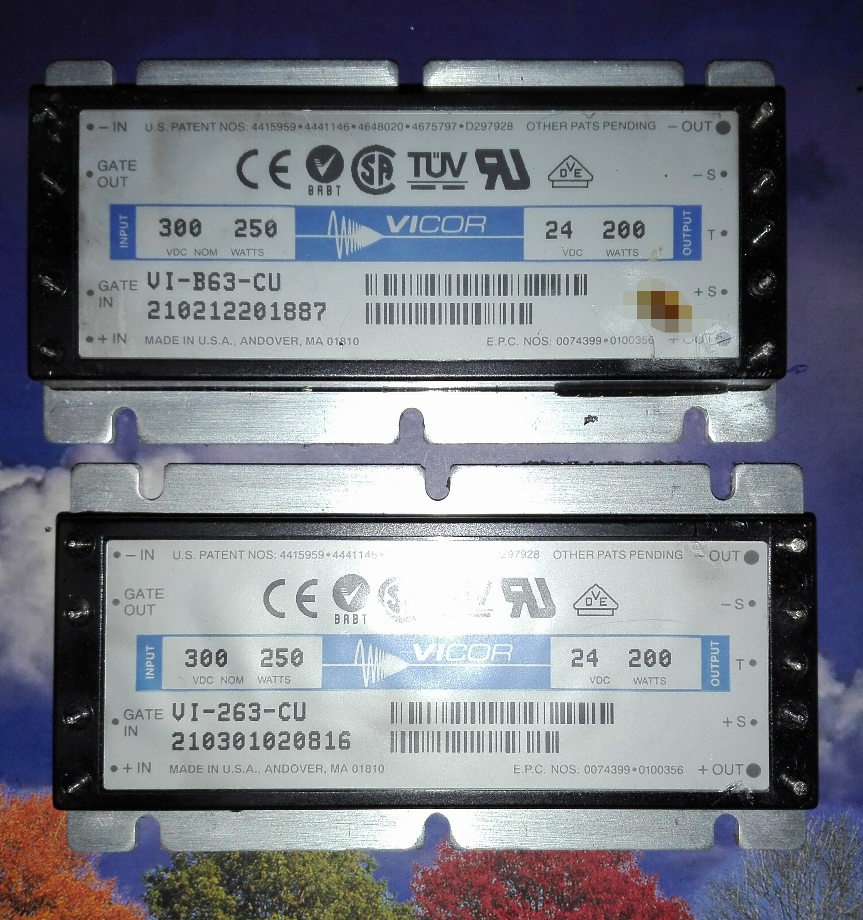 vicor power modules