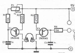 Lie detector electronic project circuit design using transistors