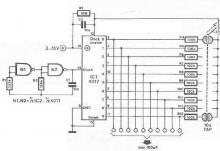 10 channels sensor switch circuit design