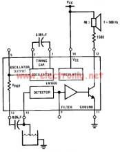 LM1830 low level detector schematic circuit design electronic project