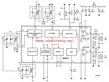 TEA5551T AM radio receiver circuit