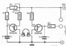 Lie detector electronic project circuit design using transistors