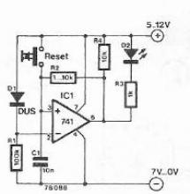 drop voltage indicator circuit diagram