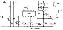 AF2310 radio controlled motor circuit transmitter