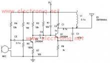Long range fm transmitter circuit diagram