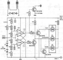 Radiator temperature indicator circuit design electronic project