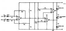Stereo balance indicator circuit design electronic project