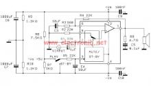 TDA2052 audio amplifier circuit design electronic project