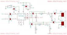 TDA7262 stereo 20 watts audio amplifier circuit design