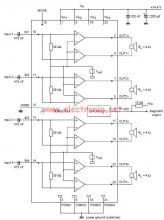 TDA8571J car audio amplifier electronic project circuit design