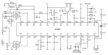 TDA9887 IF-PLL demodulator with FM radio circuit