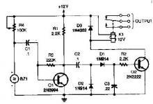 Ultrasonic proximity detector circuit design project